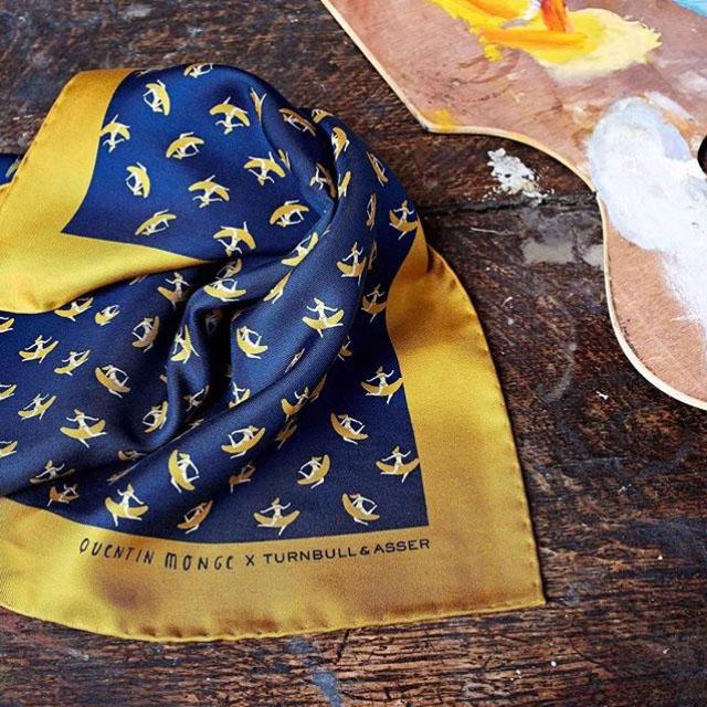 printed silk