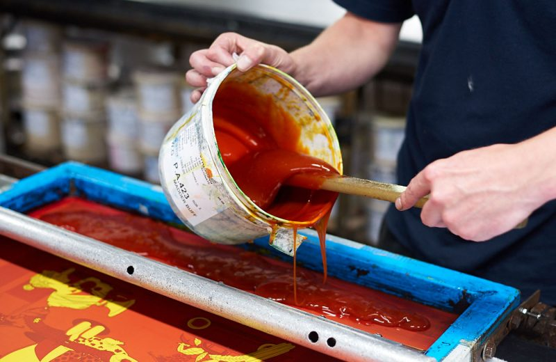 What do you need for silk screen printing?