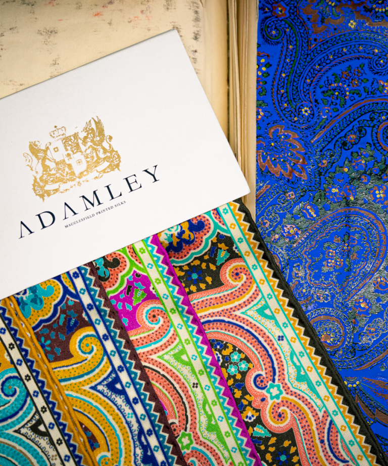 adamley printed silks