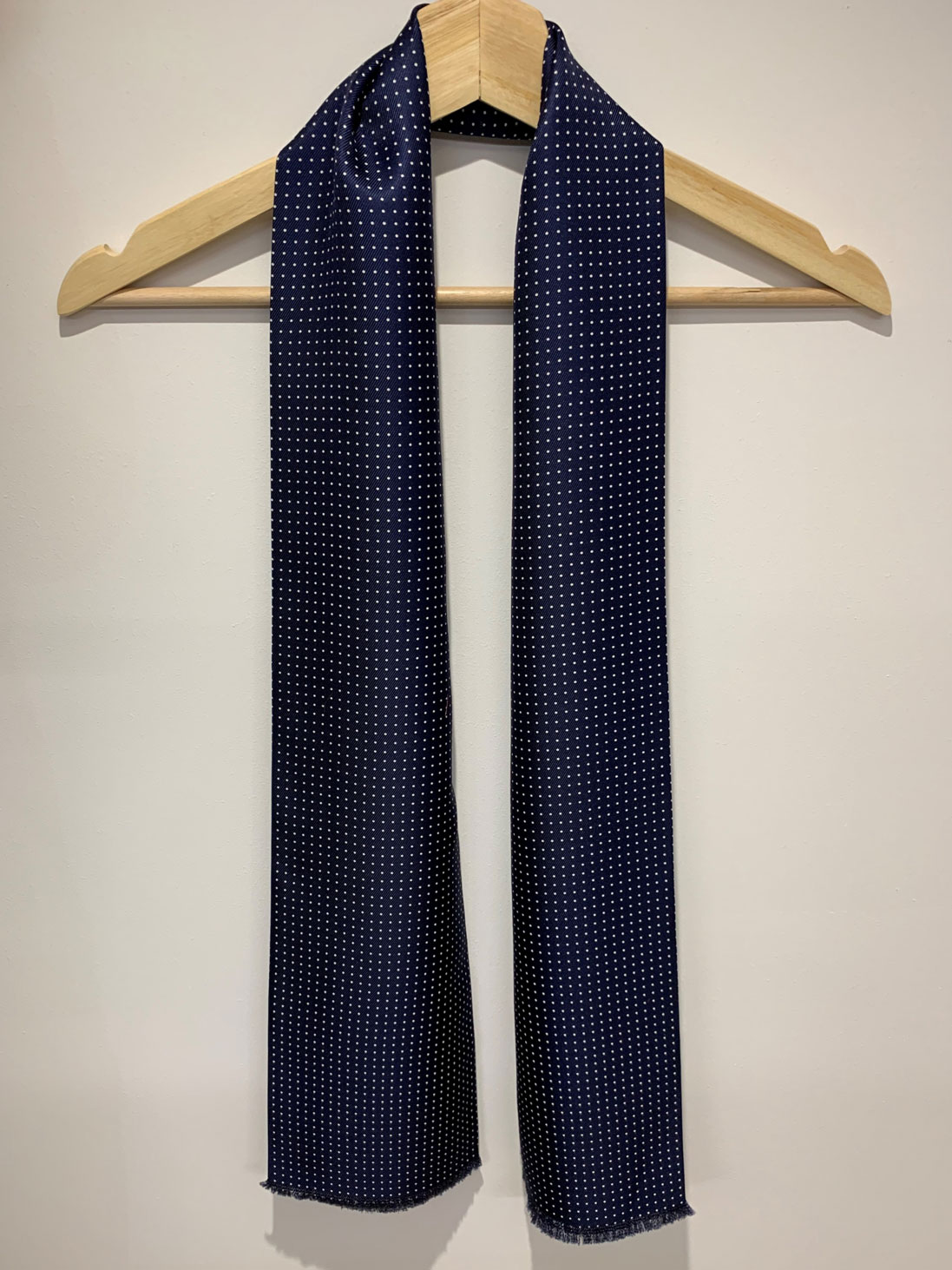 Micro – Long Silk Scarf