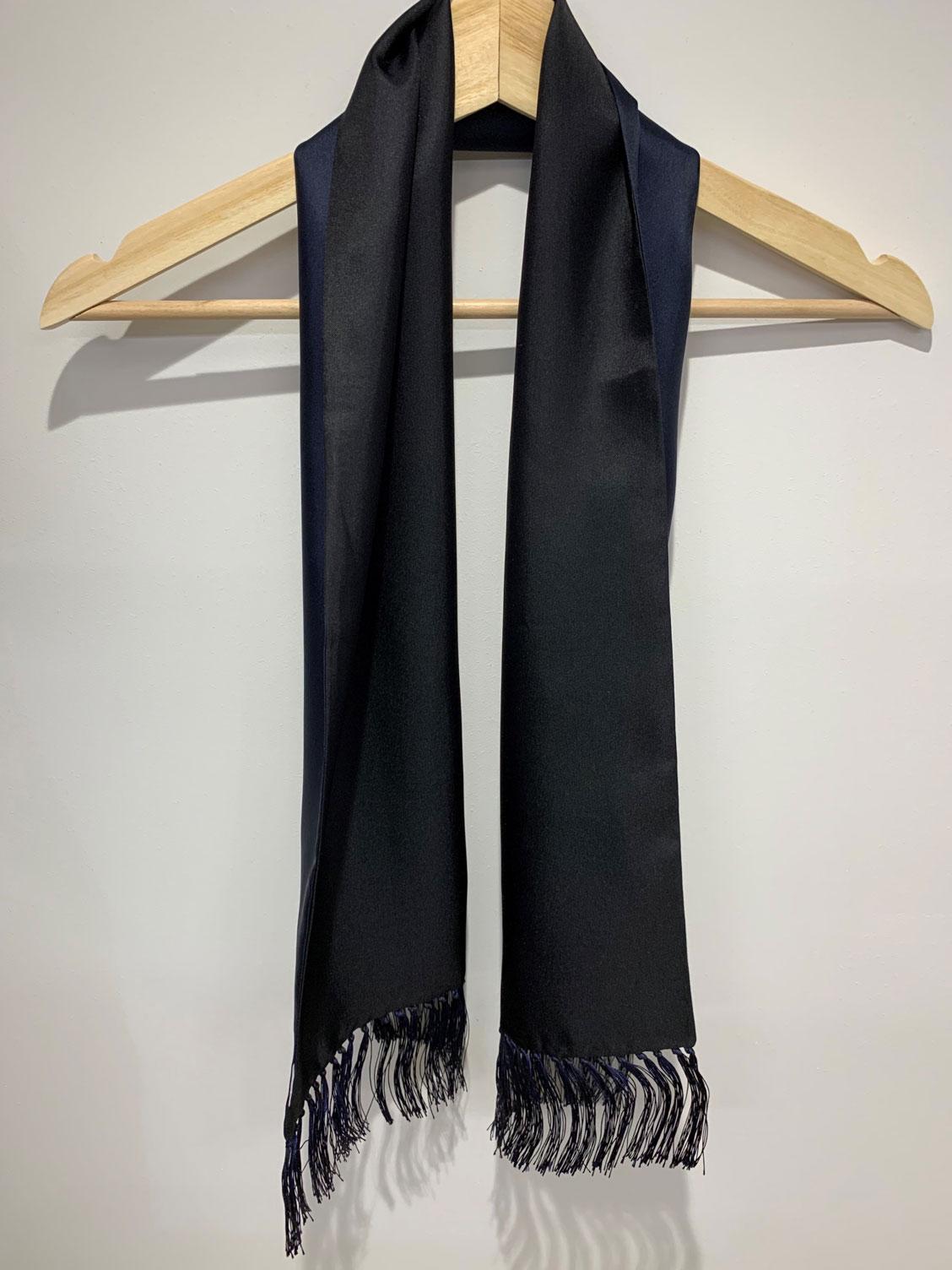Plain Double – Long Silk Scarf