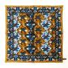 Pine Silk Pocket Square - BrownBlue