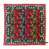 Pine Silk Pocket Square - RedBlue