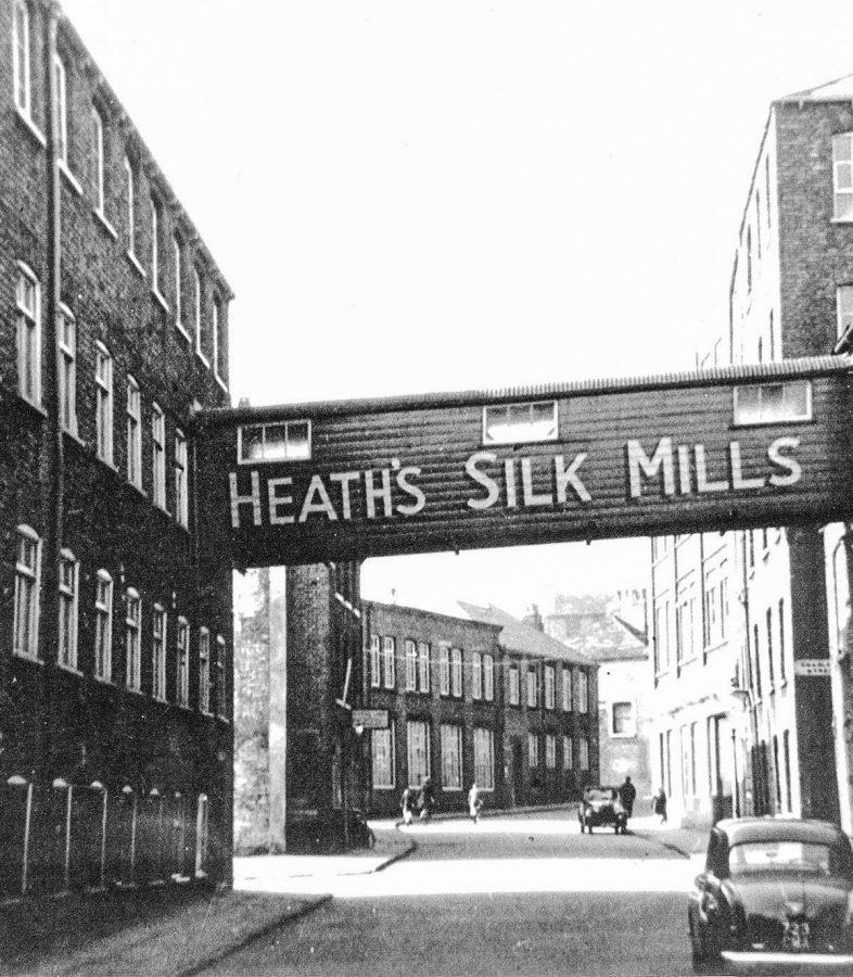 adamley textiles silk history