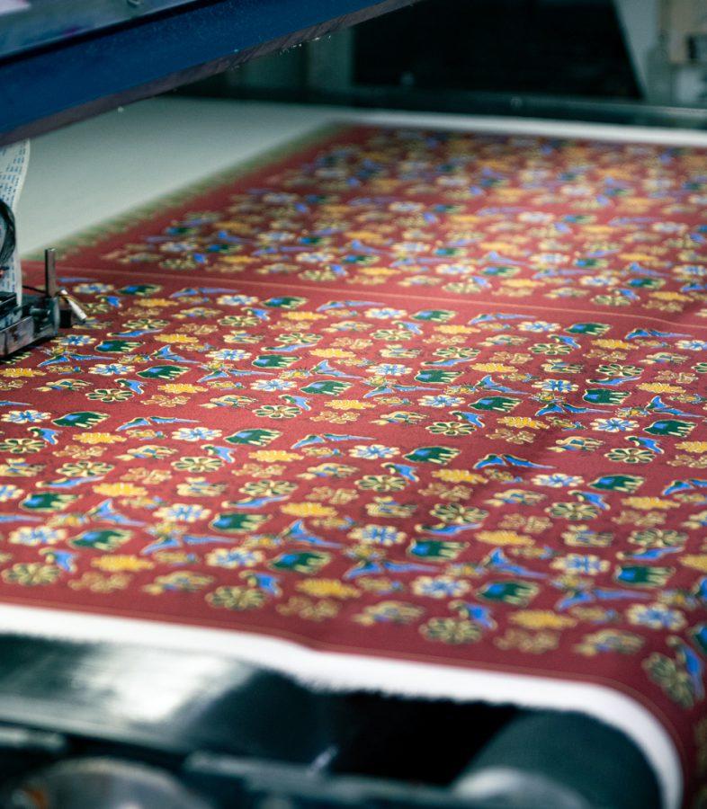 digital silk printing